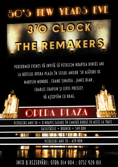 50's New Years Eve @ Opera Plaza
