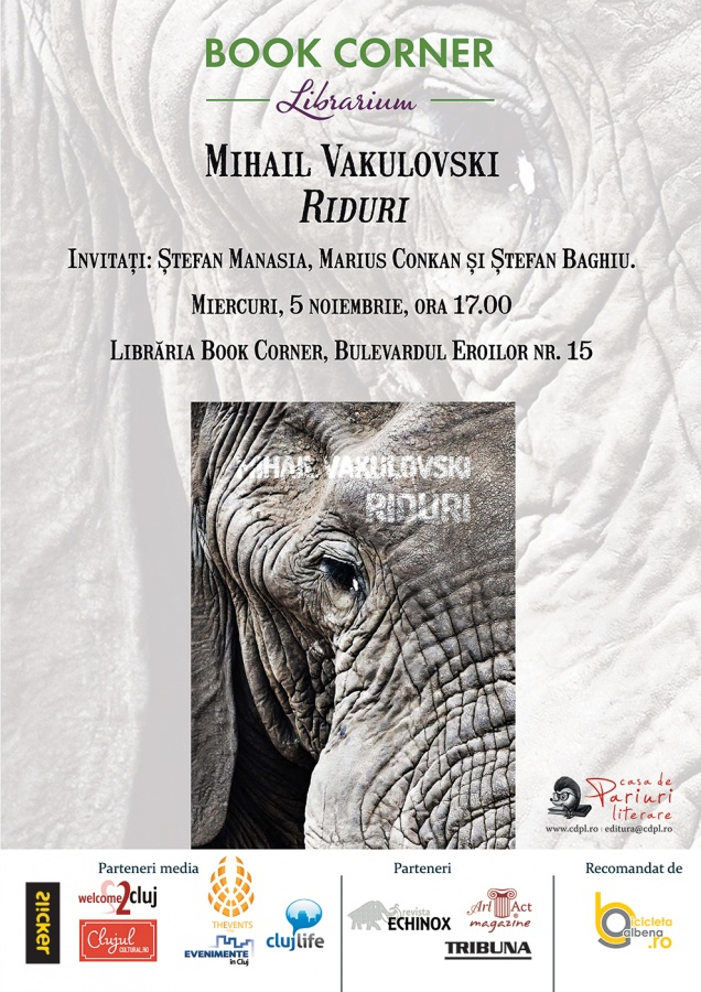 Mihail Vakulovski – Riduri @ Book Corner