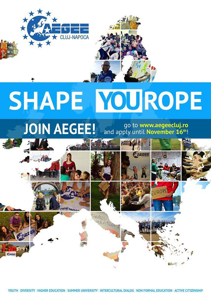 AEGEE Cluj-Napoca recruteaza!