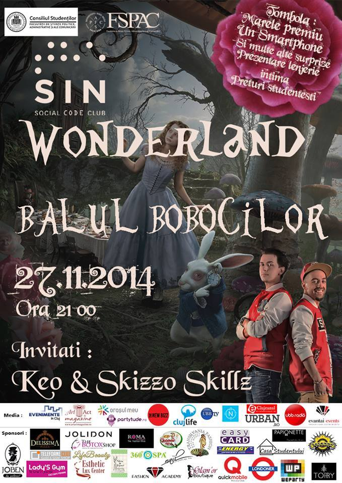 Balul Bobocilor FSPAC @ The Sin