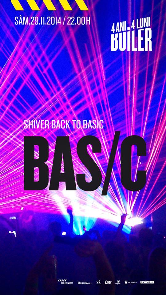 Shiver Back to BAS/C @ Boiler Club