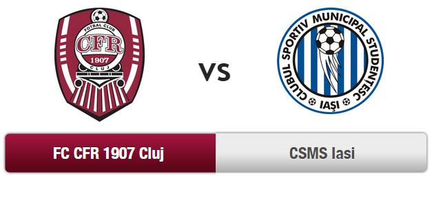 CFR Cluj – CSMS Iasi