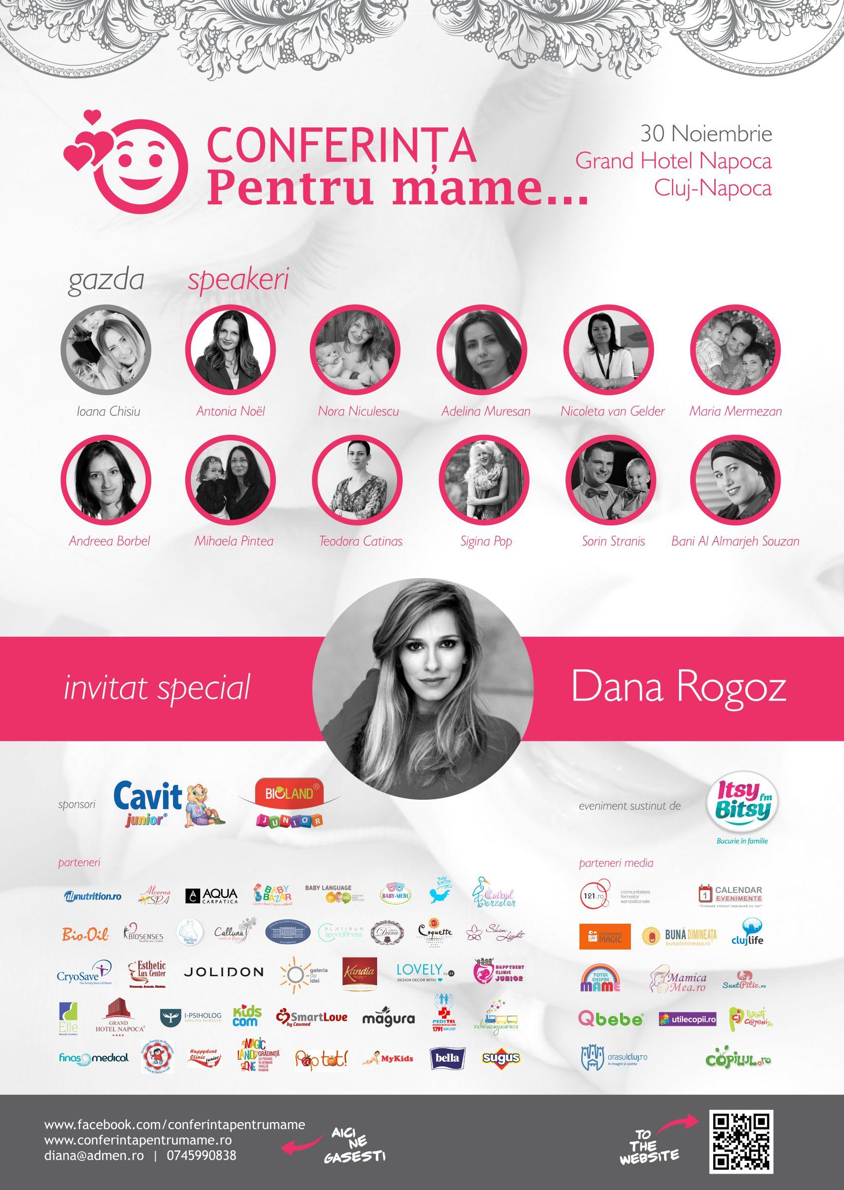 Conferinţa pentru mame @ Grand Hotel Napoca