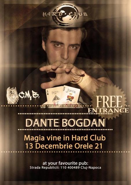 The Me(n)talist: Dante Bogdan