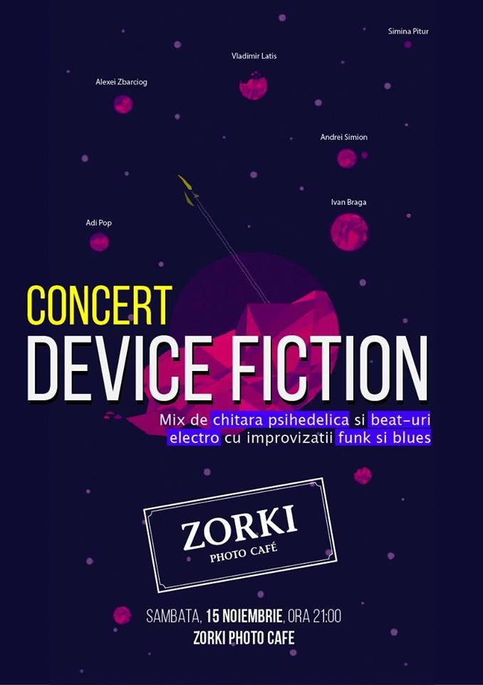 Device Fiction @ Zorki Cafe