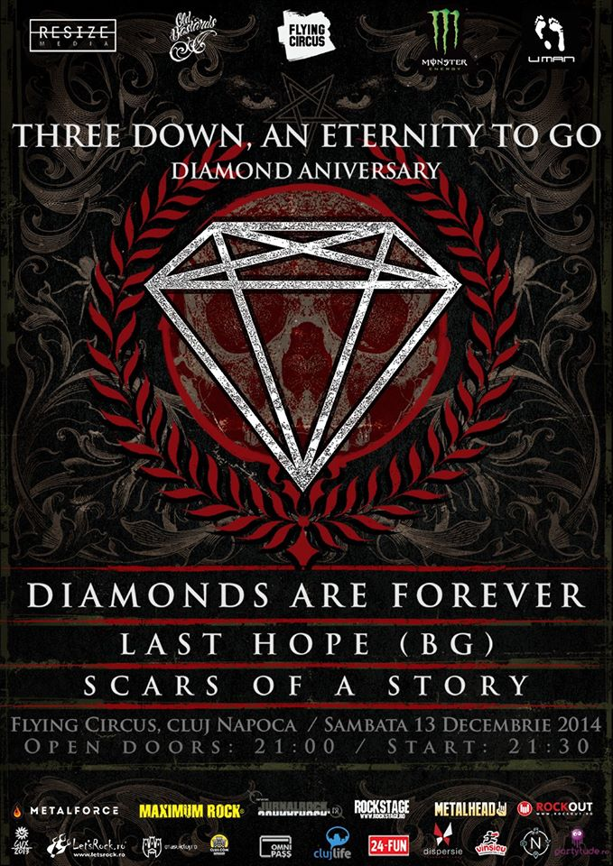 Diamonds are Forever @ Flying Circus Pub