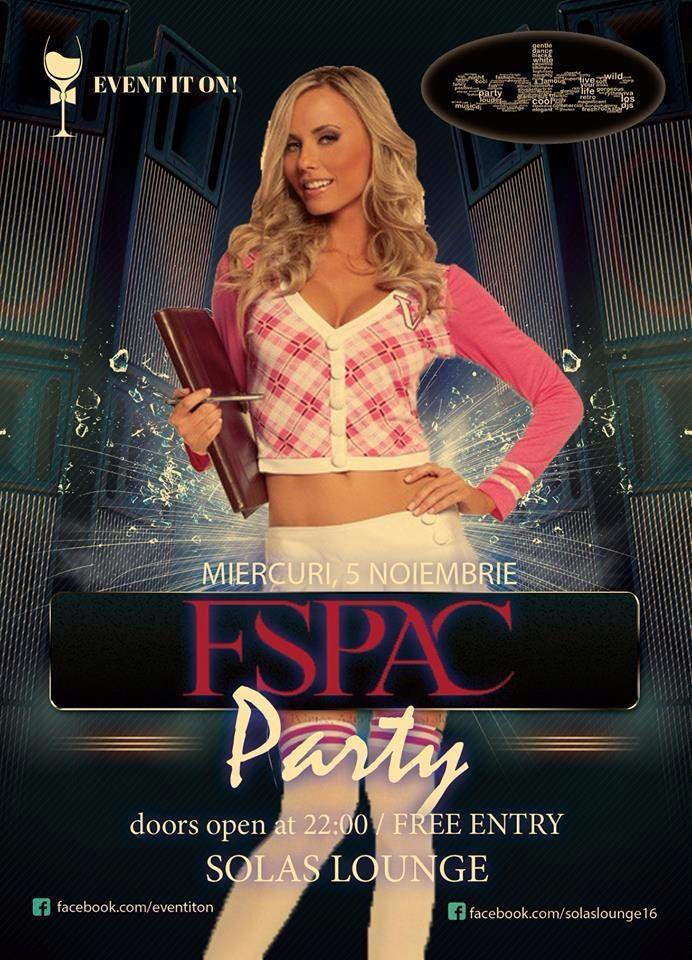 FSPAC Party @ Solas Cafe