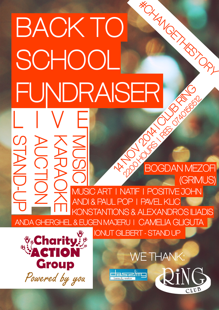 Back to School Fundraiser Party