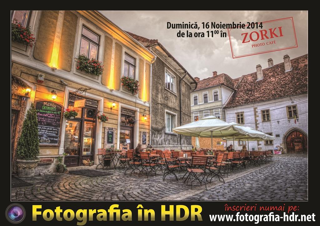 Workshop de Fotografie în HDR @ Zorki Photo Café