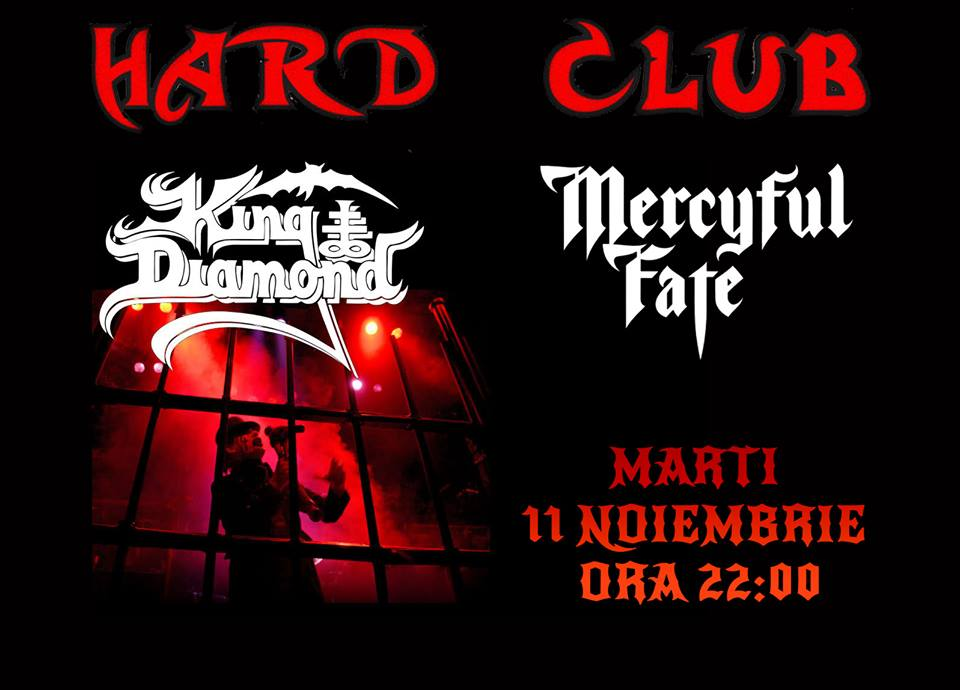 King Diamond & Mercyful Fate Night @ Hard Club