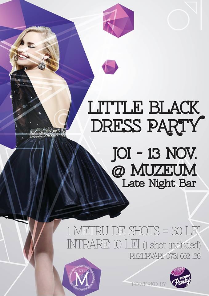 Little Black Dress Party @ Muzeum