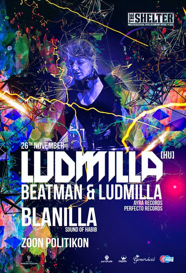Beatman & Ludmilla @ The Shelter