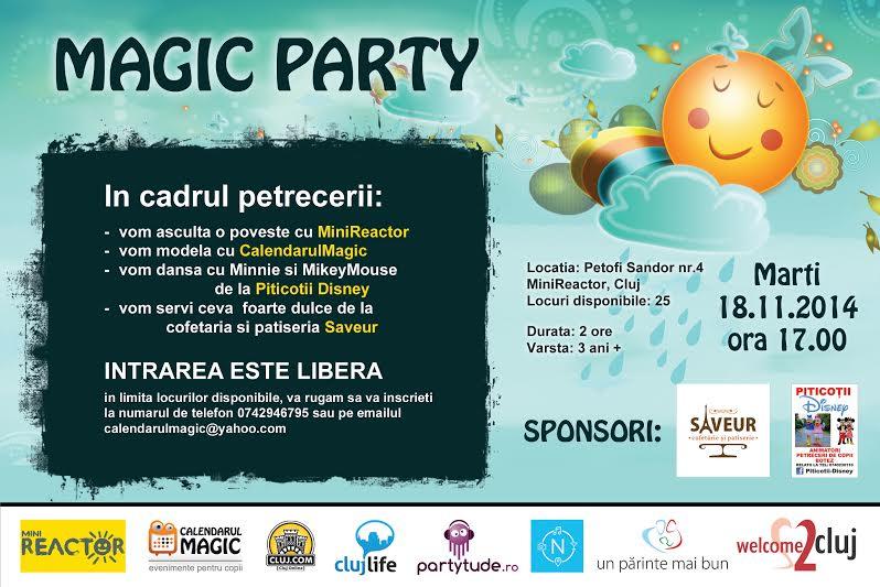 Magic Party @ MiniReactor