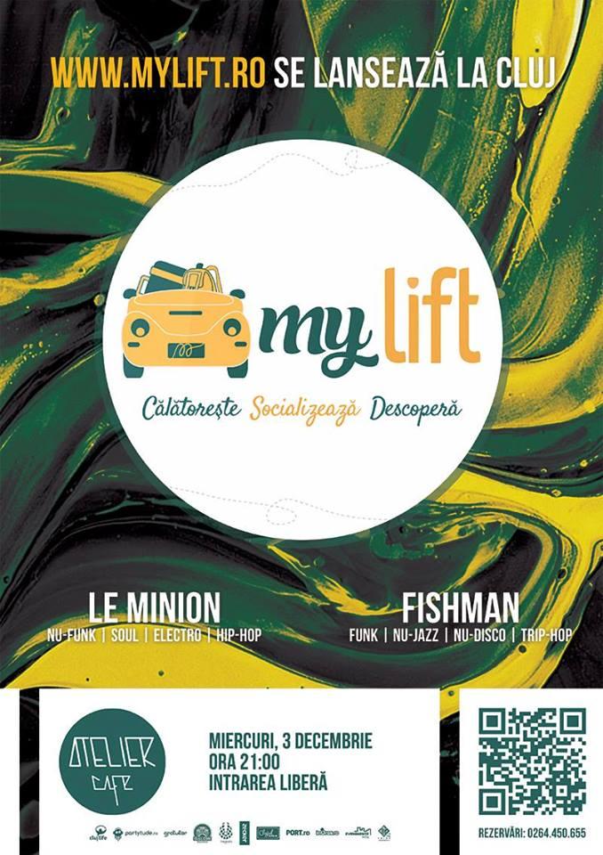Lansare MyLift.ro @ Atelier Cafe