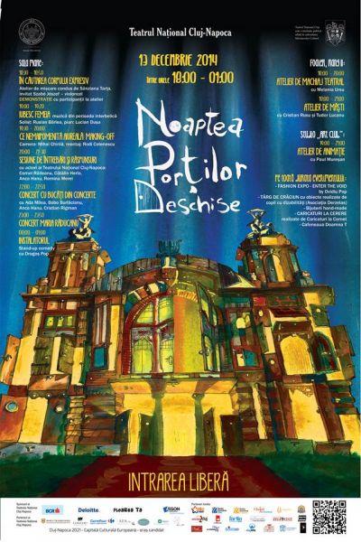 Noaptea Porţilor Deschise @ Teatrul Naţional Cluj