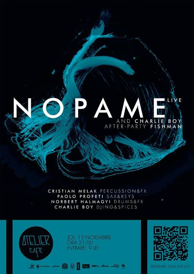Nopame & Charlie Boy live @ Atelier Cafe