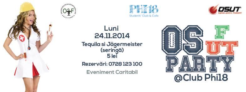 OSF.UT Party @ Club Phi 18