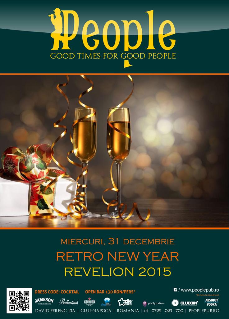 Retro New Year @ People Pub