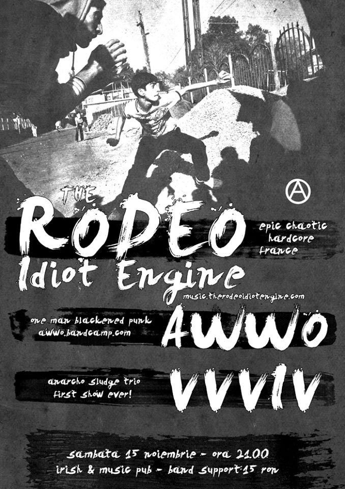 The Rodeo Idiot Engine @ Irish & Music Pub