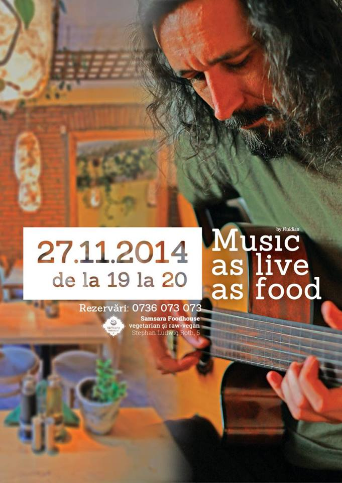 Music as live as food @ Samsara Foodhouse