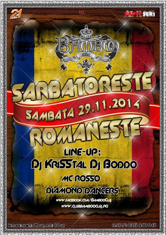 Sărbătoreşte Româneşte @ Club Bamboo