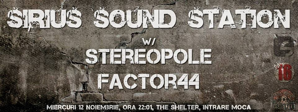 Sirius Sound Station @ The Shelter