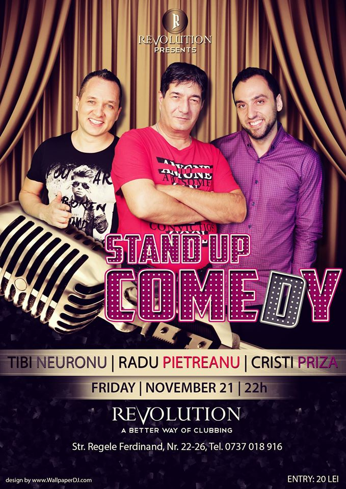 Stand Up Comedy @ Revolution Club