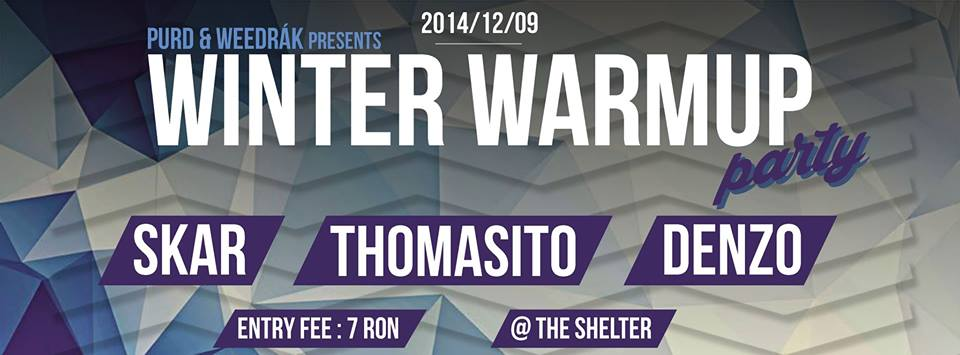 Winter warm-up party @ The Shelter