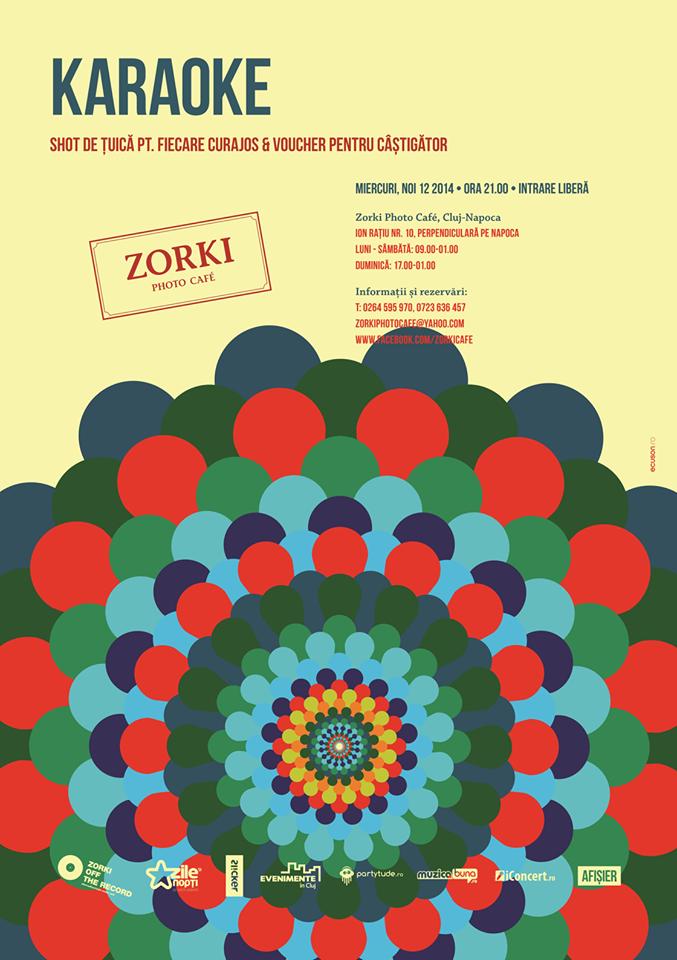 Karaoke @ Zorki Photo Cafe