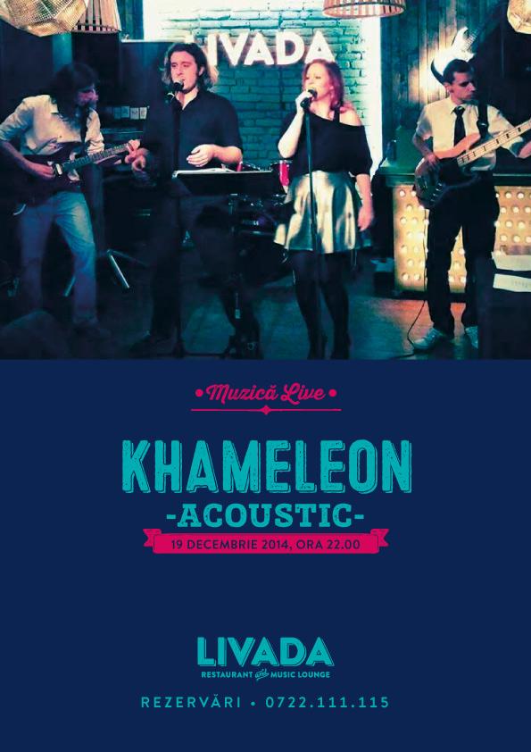Khameleon Acoustic @ Restaurant Livada