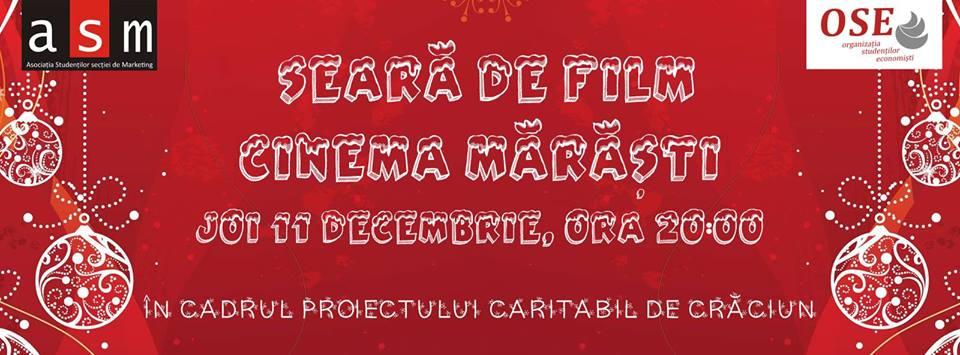 Christmas Movie Night @ Cinema Marasti