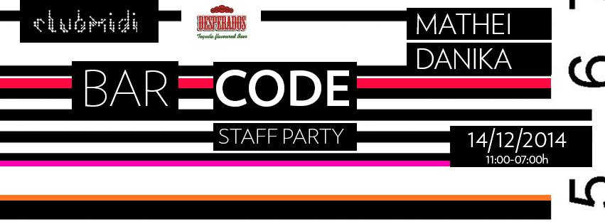 Bar_Code Staff Party