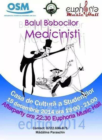 Balul Bobocilor Medicinisti @ Euphoria Music Hall