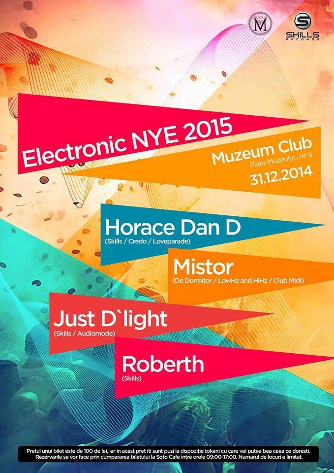 Electronic NYE 2015 @ Muzeum
