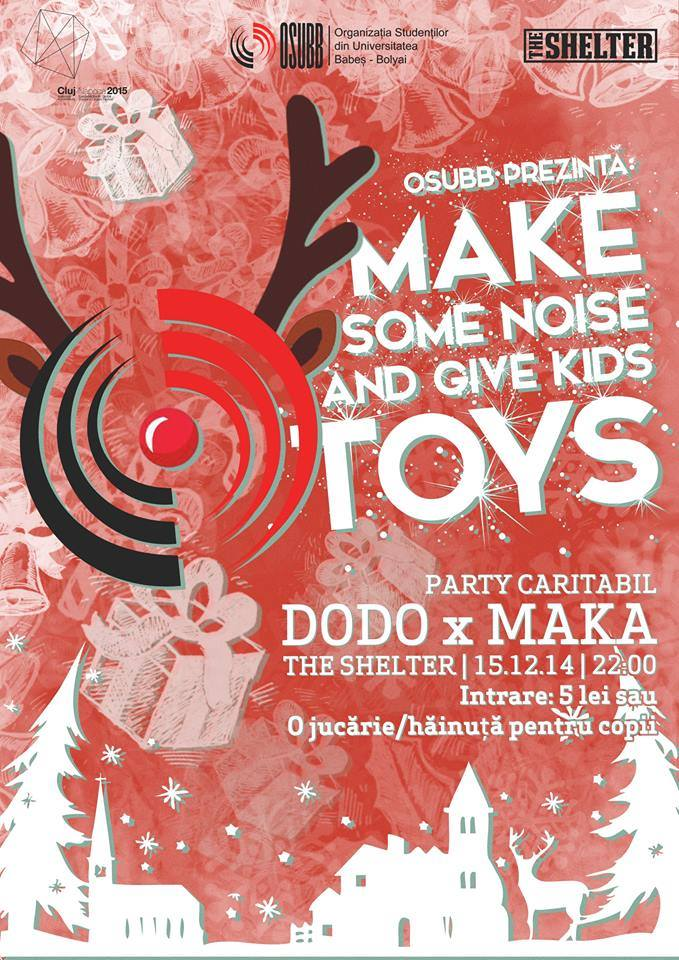 Make Some Noise and Give Them Toys