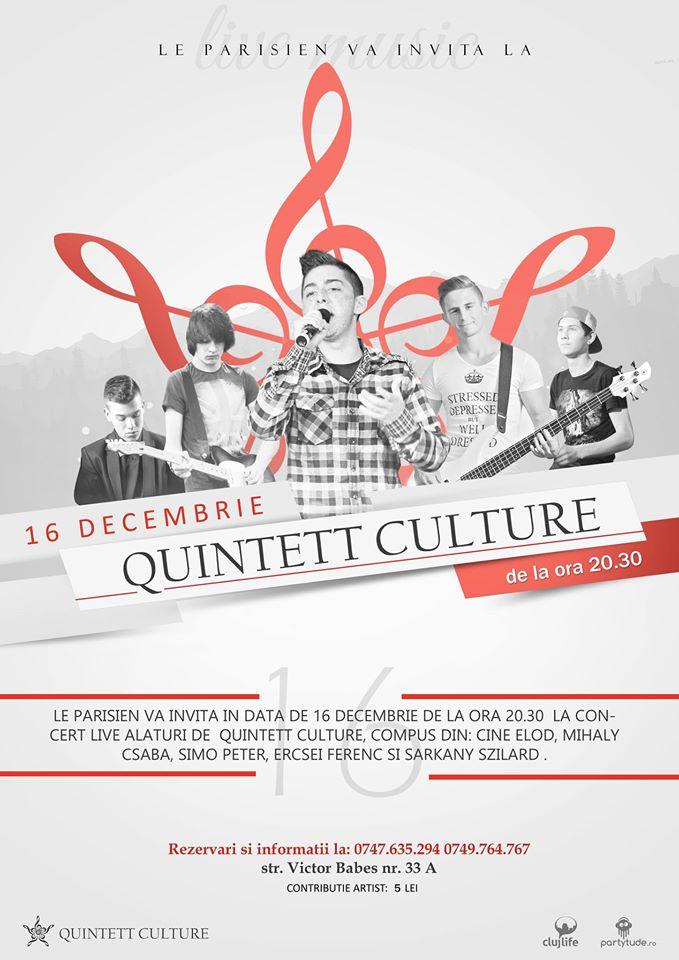 Quintett Culture @ Le Parisien