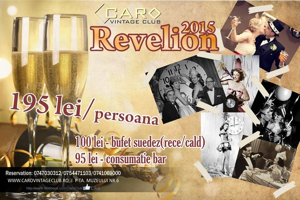 Revelion 2015 @ Caro Club