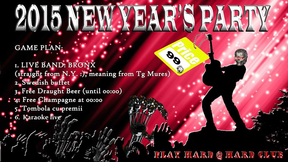 New Year's Party @ Hard Club