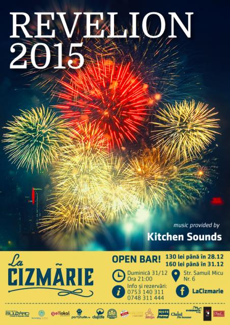 Revelion 2015 @ La Cizmărie
