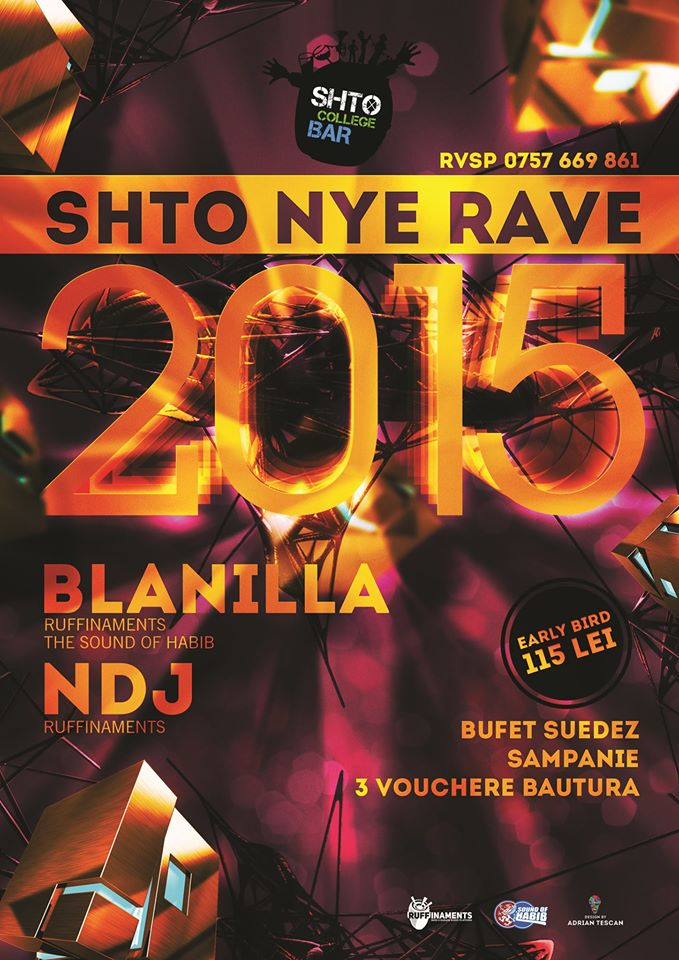 Revelion 2015 @ SHTO College Bar