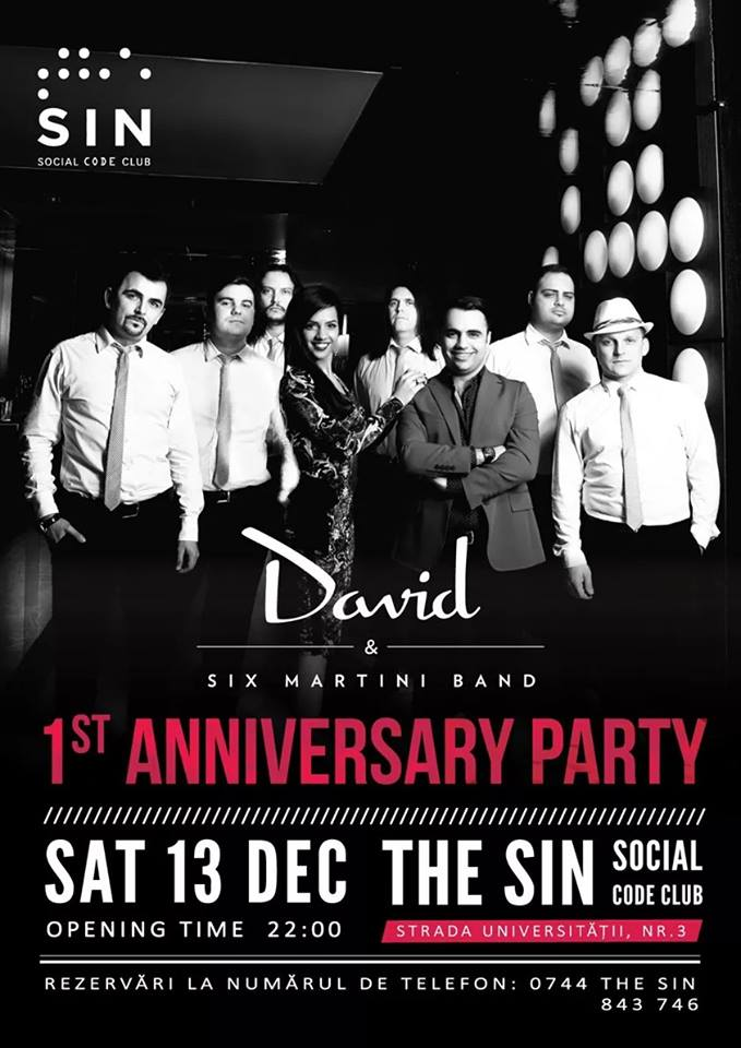 1st Anniversary Party @ The Sin – Social Code Club
