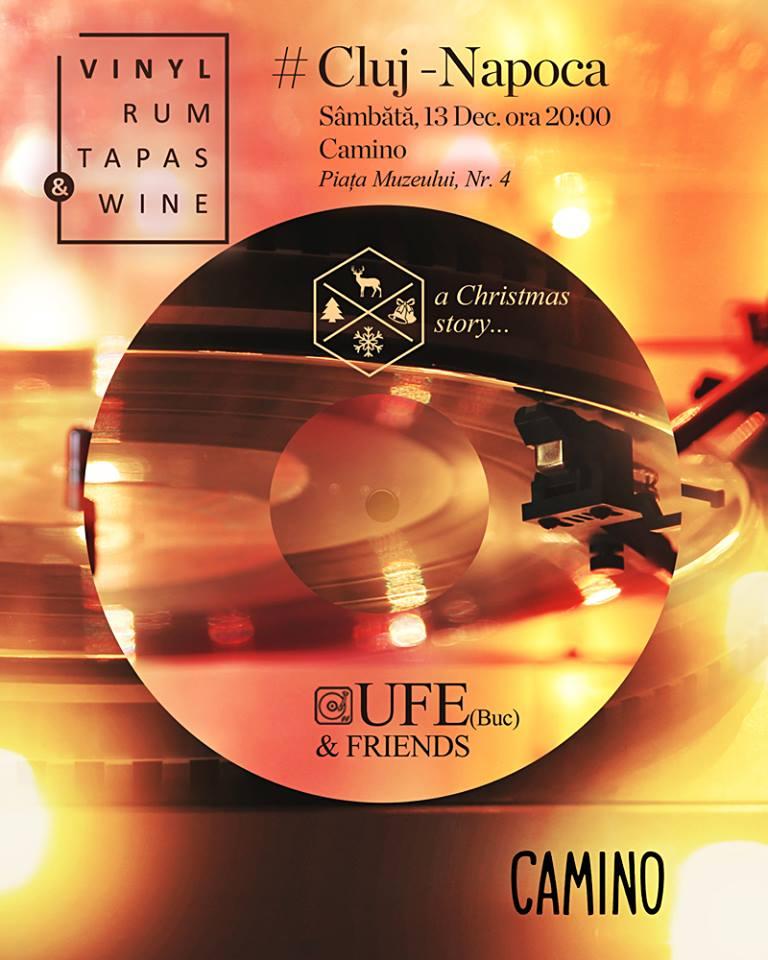 Vinyl, Rum, Tapas & Wine @ Camino