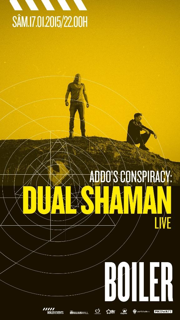 ADDO's Conspiracy: DUAL SHAMAN [LIVE]