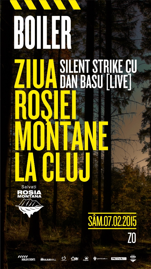 Ziua Roșiei Montane cu Silent Strike & Dan Basu @ Boiler Club