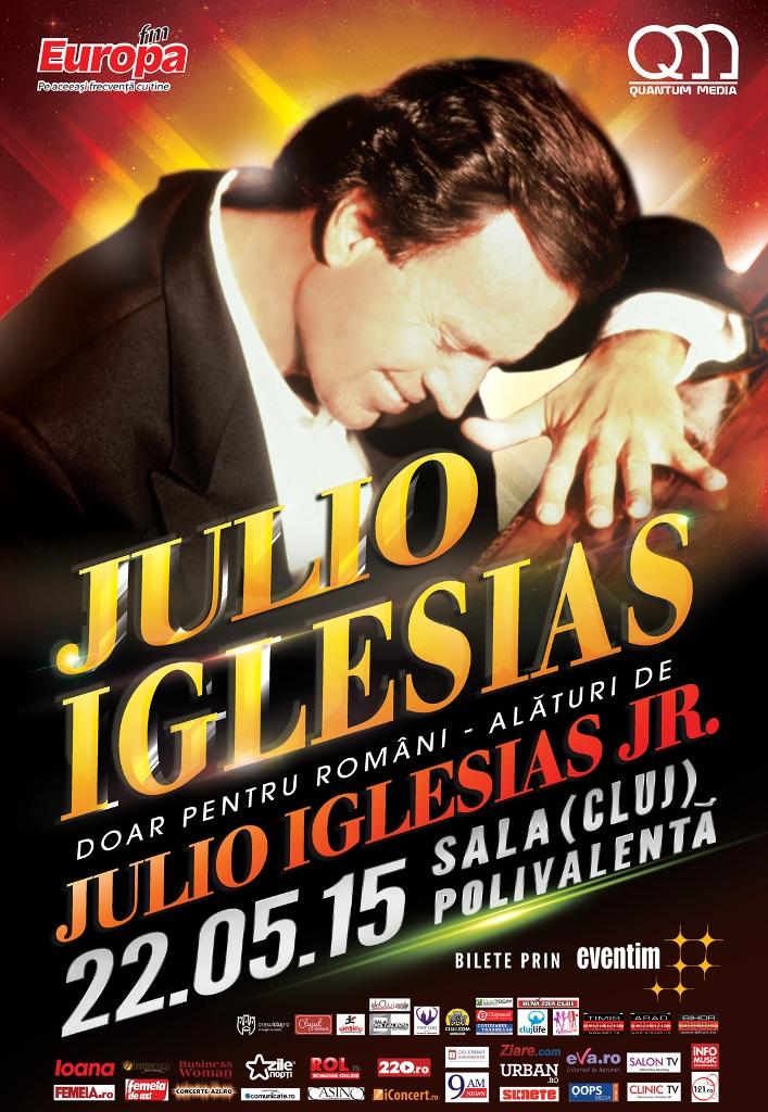 Julio Iglesias @ Sala Polivalentă Cluj