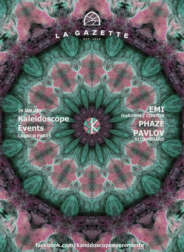 Kaleidoscope launch.party @ La Gazette