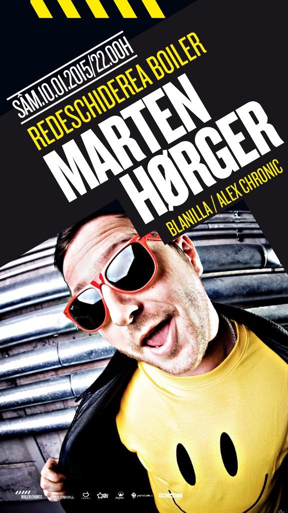 Marten Horger @ Boiler Club