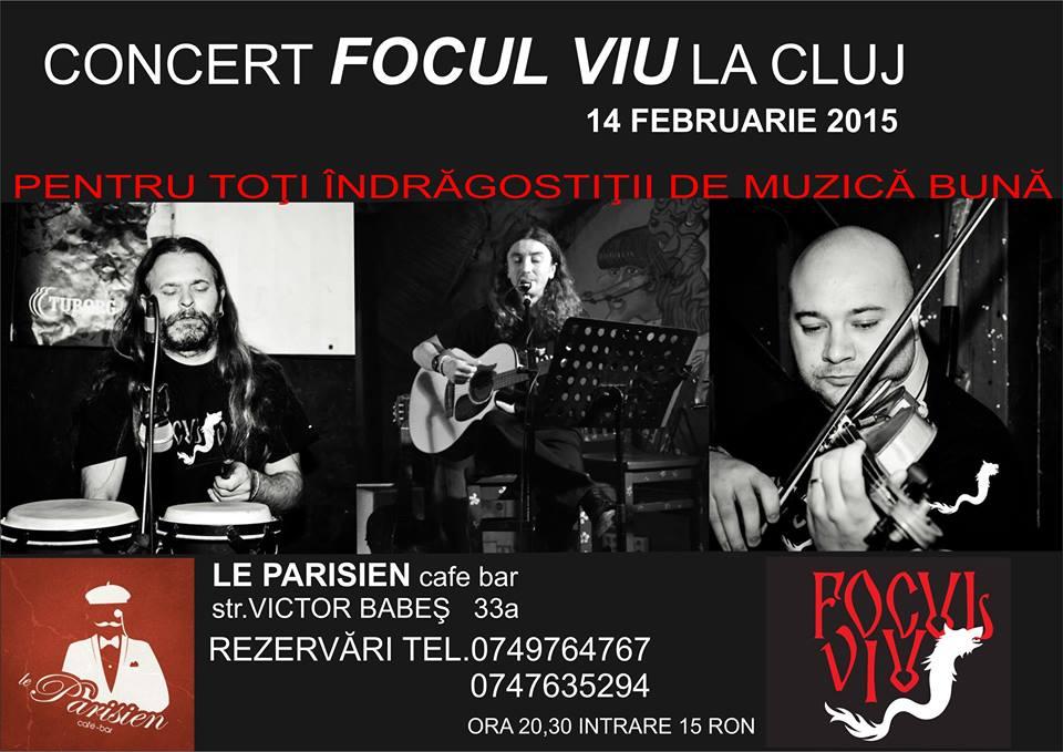 Focul Viu @ Le Parisien Cafe