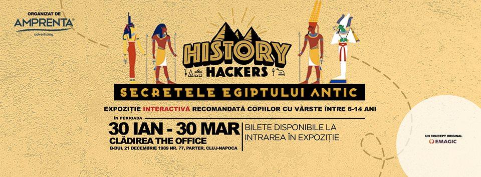 Secretele Egiptului Antic – Expoziţie interactivă