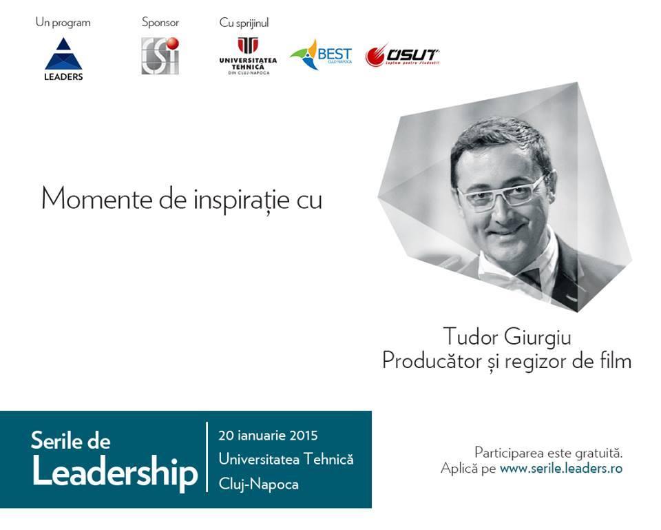 Tudor Giurgiu @ Serile de Leadership